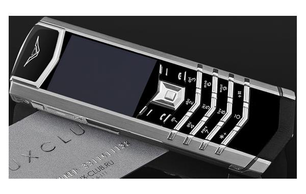 Vertu Signature S Design Steel Exclusive