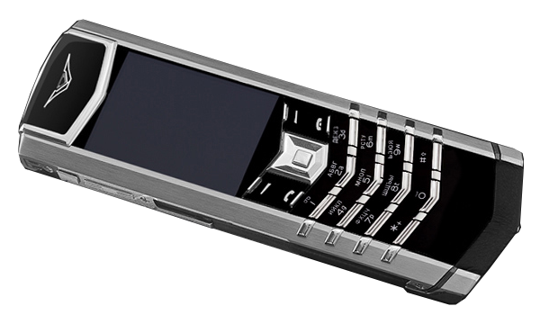 Vertu S Design Stainless Steel Russian