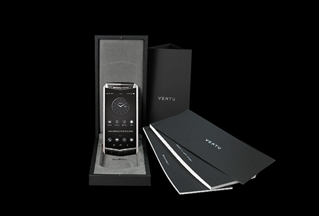 Комплектация телефона Vertu Aster P Gothic BLK Screw Calf