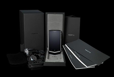 Комплектация телефона Vertu Constellation V Black