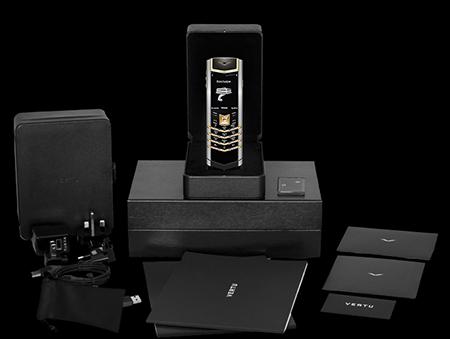 Комплектация телефона Vertu Signature S Design Mixed Metals