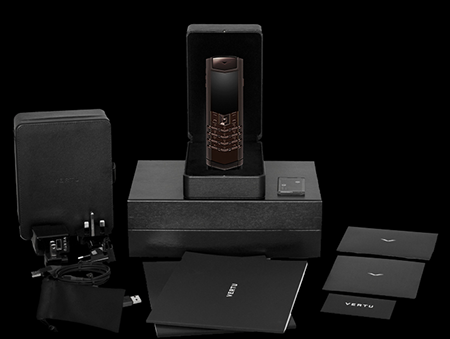 Комплектация телефона Vertu Signature S Design Pure Chocolate Exclusive
