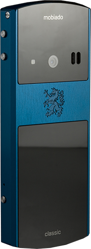 Телефон Мобиадо Classic 712 ZAF Blue