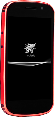 Телефон Mobiado Grand Touch Red