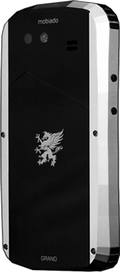 Телефон Мобиадо Grand Touch Silver