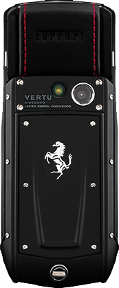 Телефон Верту Ascent Ti Ferrari Nero Assoluto