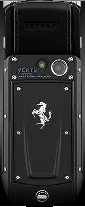 Телефон Верту Ascent Ti Ferrari Nero
