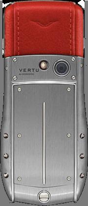 Телефон Верту Ascent Ti Red