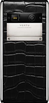 Телефон Верту Aster Black Alligator
