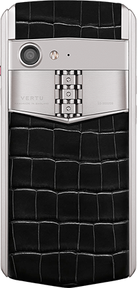 Телефон Верту Aster P Baroque Jade Black Alligator