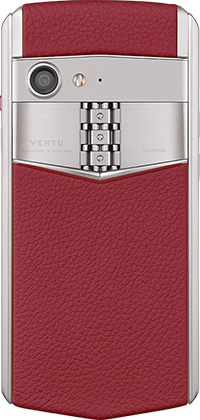Телефон Верту Aster P Baroque Raspberry Red Calf