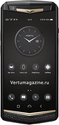Телефон Vertu Aster P Gothic BLK Screw Calf