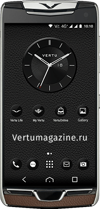 Телефон Vertu Constellation X Walnut Brown
