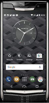 Телефон Vertu New Signature Touch Jet Calf