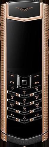 Телефон Vertu Signature S Design Clous De Paris Gold