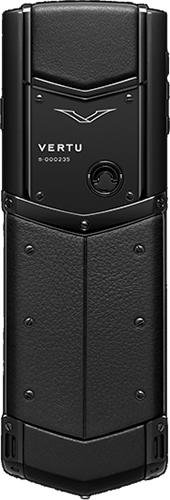 Телефон Верту Signature S Design Pure Black Exclusive