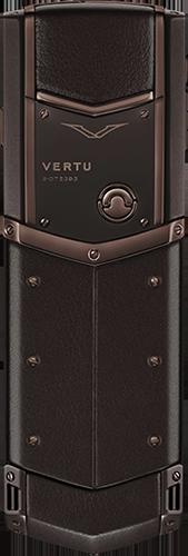 Телефон Верту Signature S Design Pure Chocolate Exclusive
