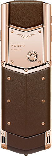 Телефон Верту Signature S Design Red Gold Brown Exclusive