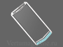 Телефон Vertu Aster P Baroque Powder Blue Calf