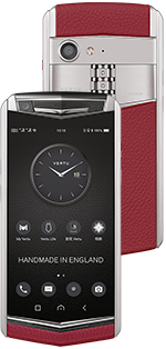 Купить Vertu (Верту) Aster P Baroque Raspberry Red Calf