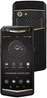 Купить Vertu Aster P Gothic BLK Screw Calf
