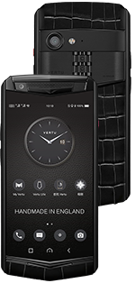 Купить Vertu Aster P Gothic Jade Black Alligator