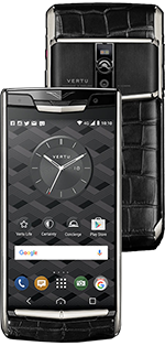 Купить Vertu New Signature Touch Jet Alligator Black