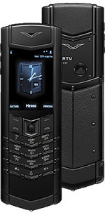 Vertu (Верту) Signature S Design Pure Black Russian