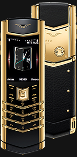 Vertu (Верту) Signature S Design Gold Exclusive