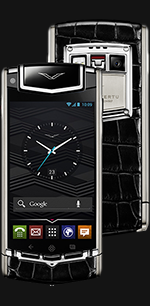Vertu (Верту) Ti Titanium Black Alligator