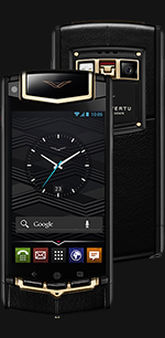 Vertu (Верту) Ti Titanium Black PVD Red Gold Mixed Metals