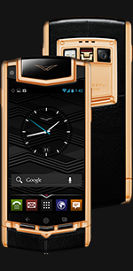 Vertu Ti Titanium Red Gold